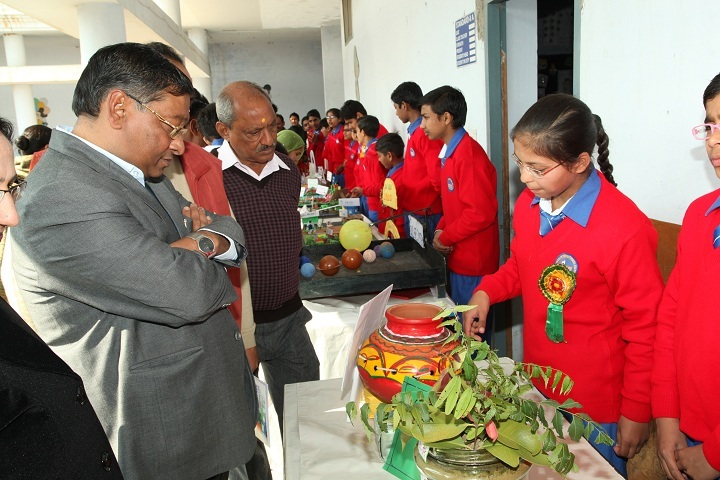Heritage International School-Science Exhibition