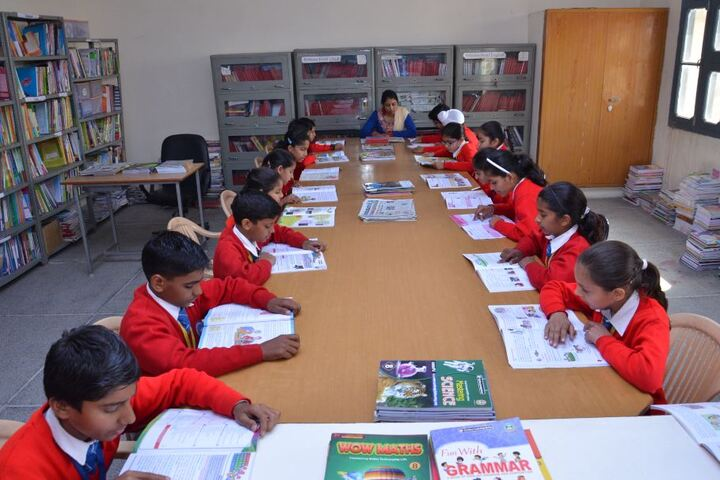 Heritage International School-Library