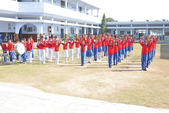 Heritage International School-Morning Drill