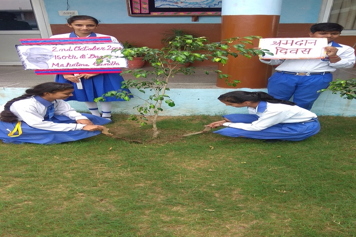 Heritage International School-Tree Plantation