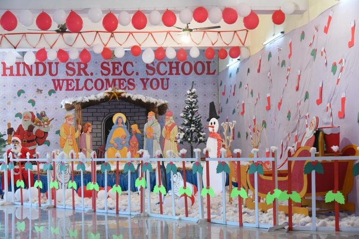 Hindu Senior Secondary School-Christmas Celebration