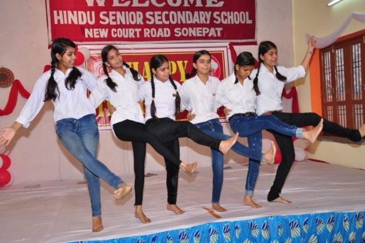 Hindu Senior Secondary School-Dance