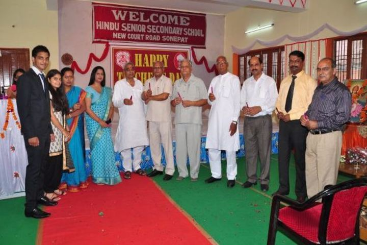Hindu Senior Secondary School-Teachers Day