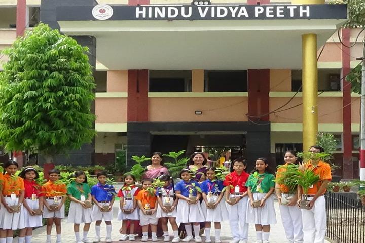 Hindu Vidyapeeth-Tree Plantation