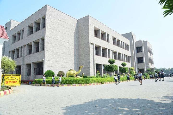 Holy Family Convent Senior Secondary School-Campus