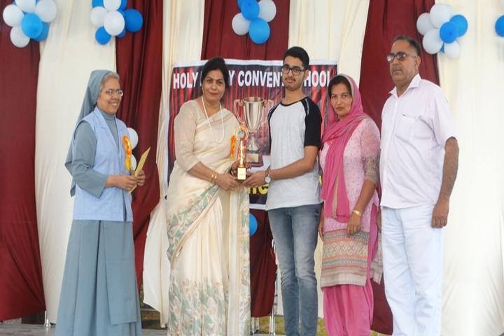 Holy Family Convent Senior Secondary School-Felicitation
