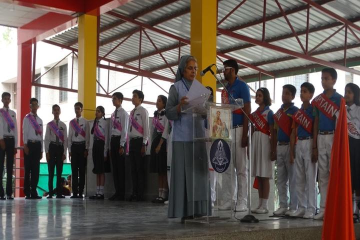 Holy Family Convent Senior Secondary School-Investiture Ceremony