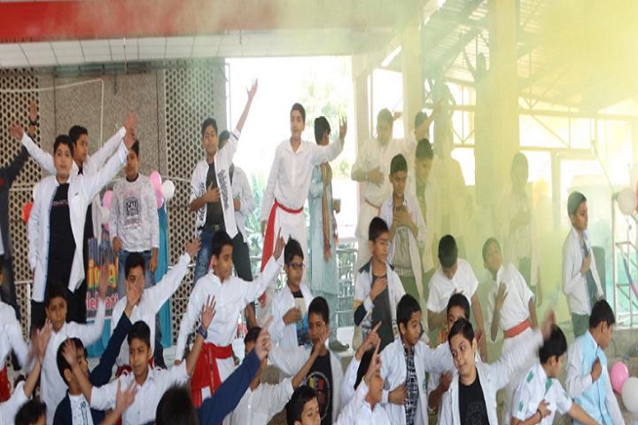 Holy Family Convent Senior Secondary School-Holi Dances