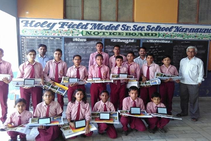 Holy Field Model Sr Sec School-Awards