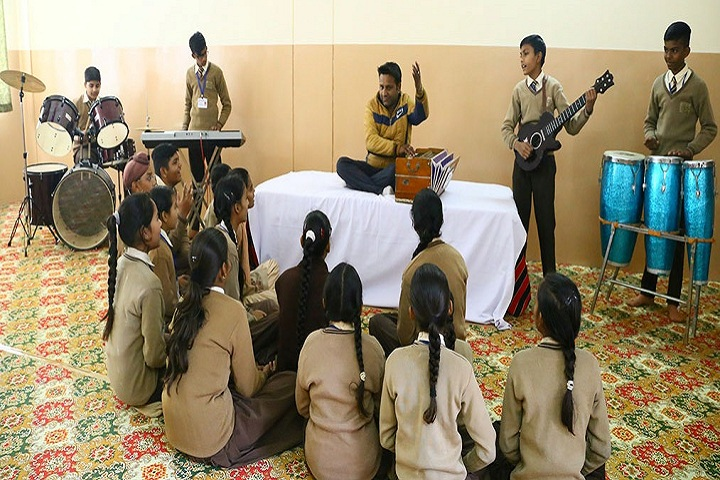 Holy Mother Public School-Music Room