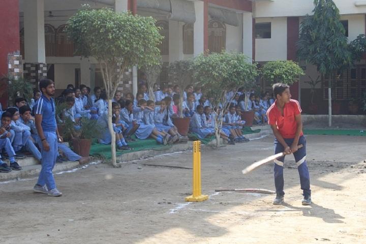 I B L Public School-Sports cricket
