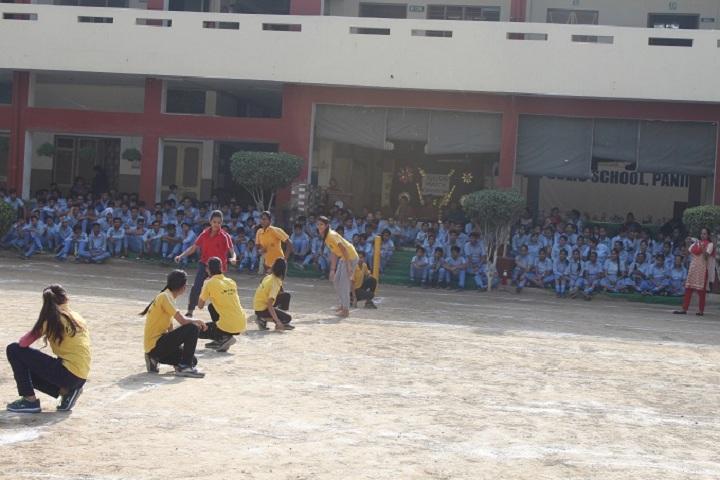 I B L Public School-Sports kho kho