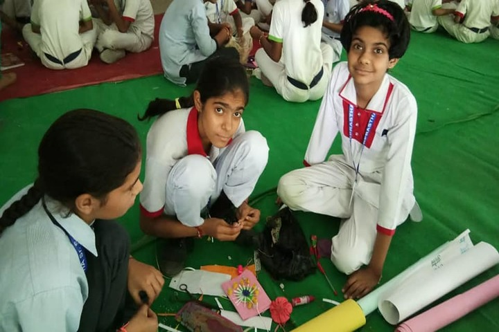 Inderprastha Senior Secondary School-Rakhi Making Competition