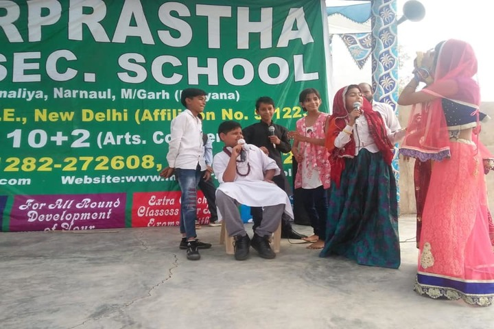 Inderprastha Senior Secondary School-Skit