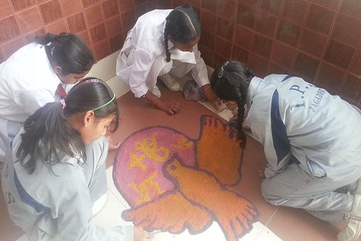 Indian Public School-Rangoli