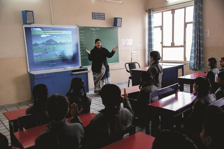 Indian Public School-Smart Class Room