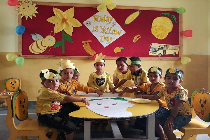 Indus Public School-Yellow Day