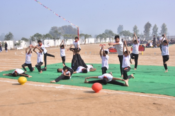 Indus Public School-Yoga Activity