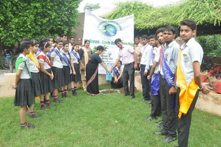 Indus Public School-Tree Plantation