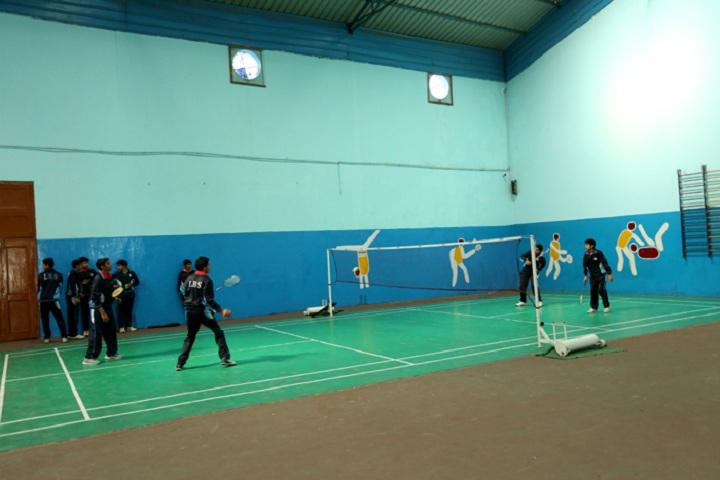 International Bharti School-Badminton