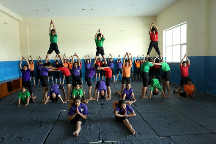 International Bharti School-Yoga