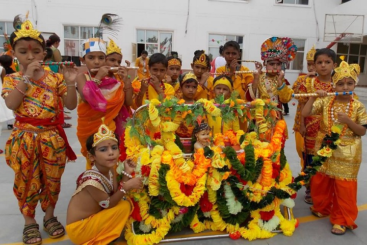 Ishwar International School-Janmasthami