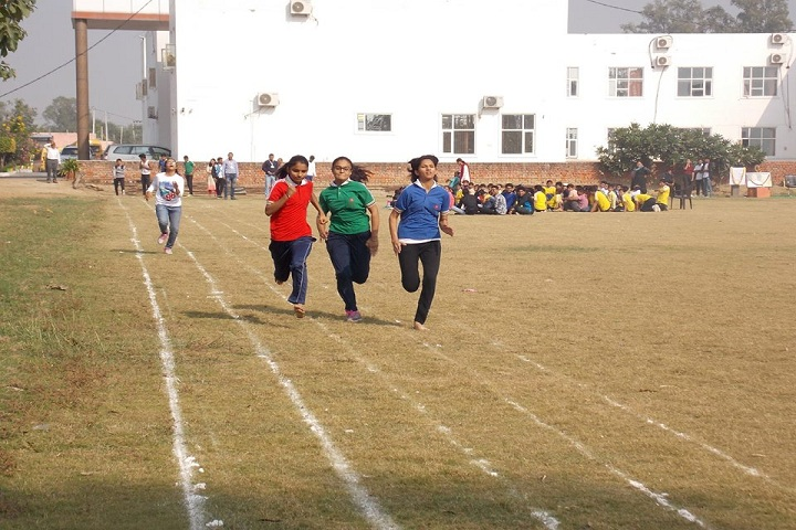 Ishwar International School-Running Competition