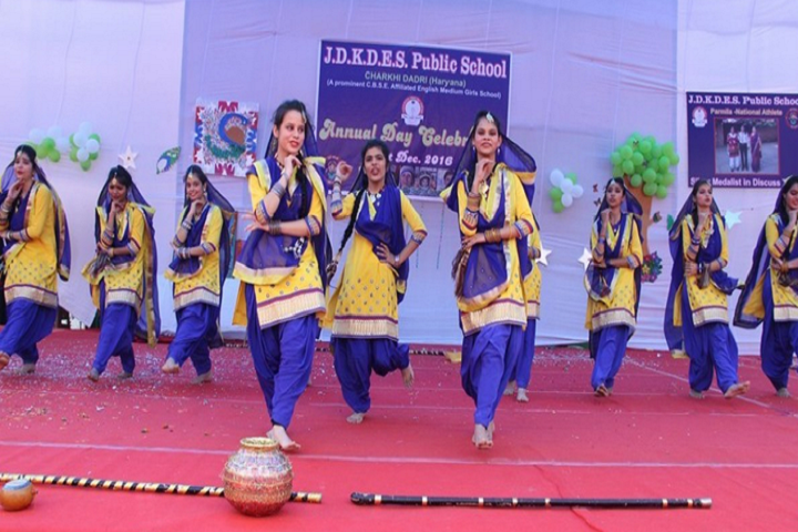 J D K D E S Public School-Annual Day Performance