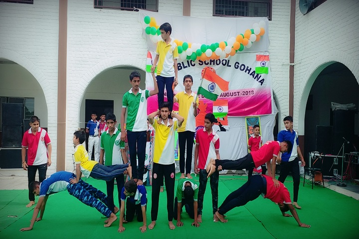 J K R Public School-Independence Day