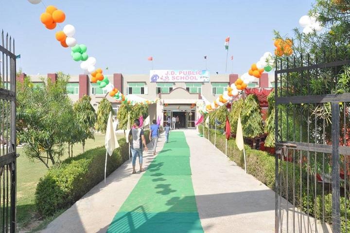 J D Public School-School Entrance