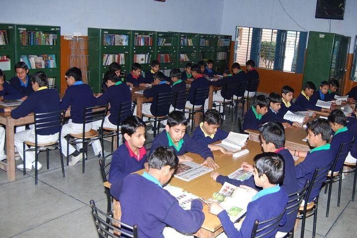 J P Jain Senior Secondry School-Library