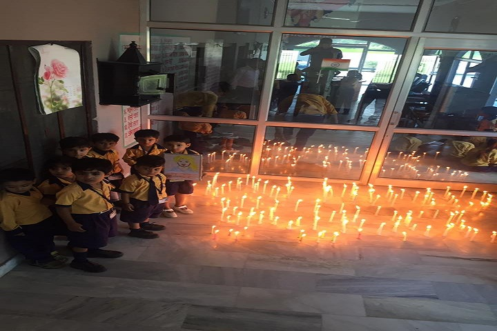Jai Hind High School-Candle Rally
