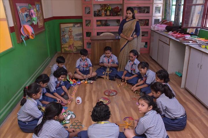 Jain Public School-Art and Craft Room