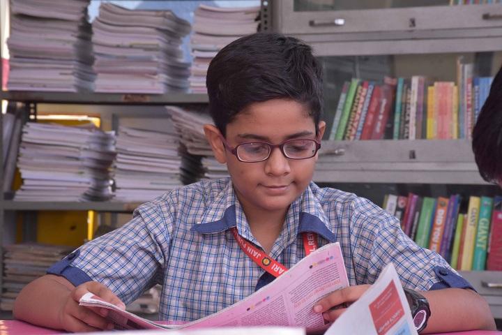 Jain Public School-Library