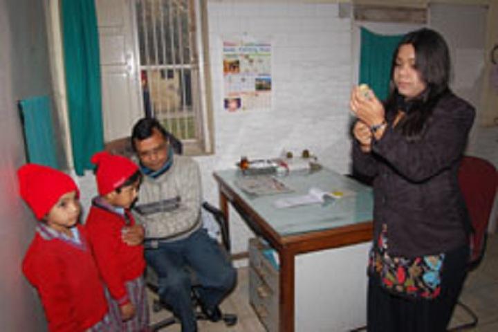 Jain Vidya Mandir High School-Medical Room