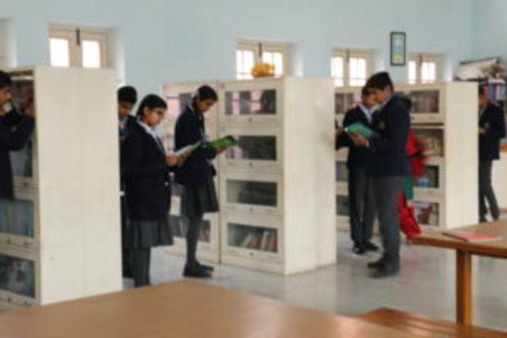 Jainendra Public School-Library