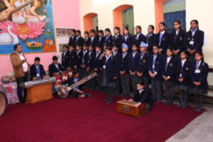 Jainendra Public School-Music