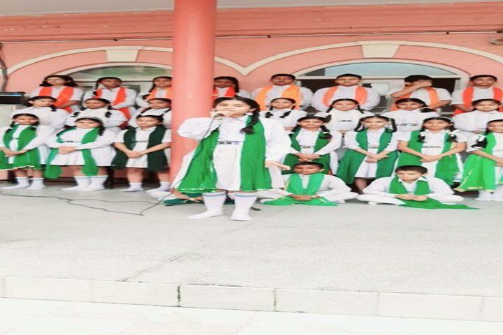 Jainendra Public School-Singing