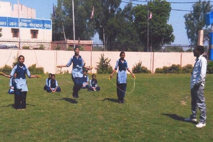 Jan Sewa Sansthan Public School-Skipping
