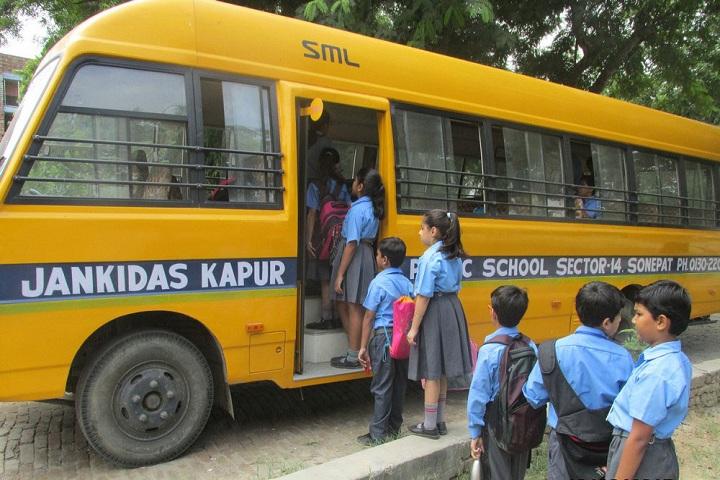 Jankidas Kapur Public School-Transport