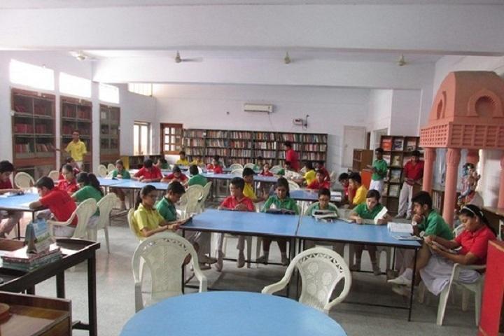Jankidas Kapur Public School-Library