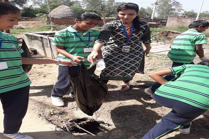 Jankiji Global Public School-Swatch Bharath