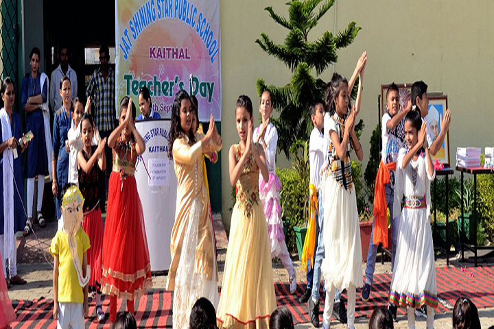 Jat Shining Star Public School-Dance