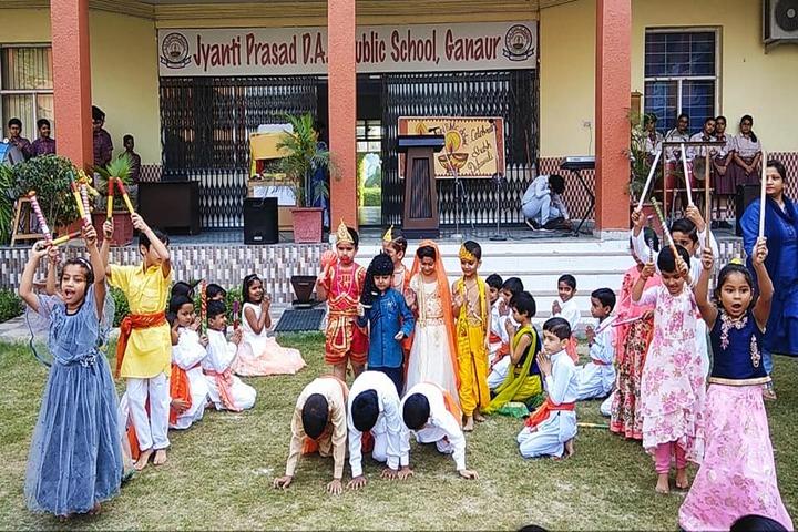 Jayanti Prasad Dav Public School-Festival Celebration
