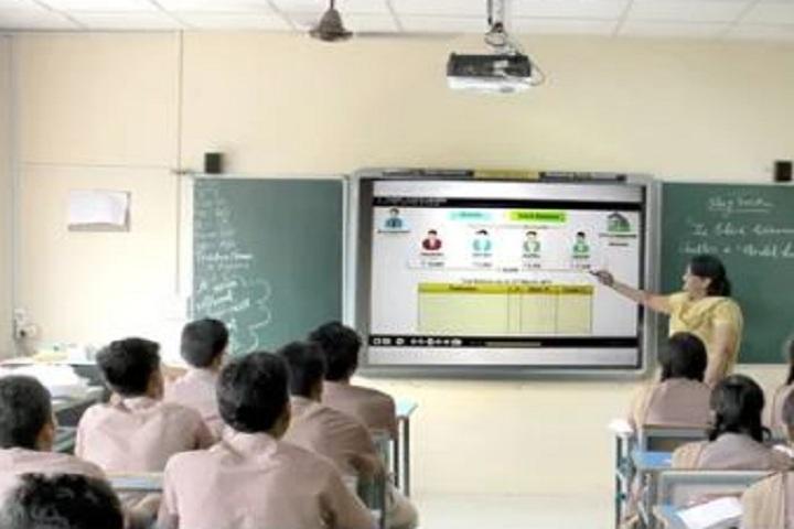 Jcm International School-Smart ClassRooms