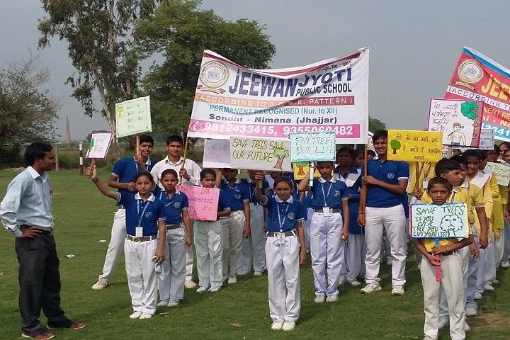 Jeewan Jyoti Public School-Earth Day