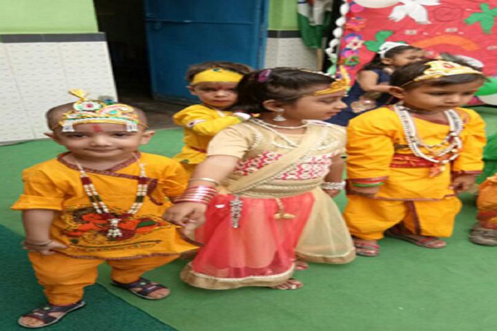 Jeewan Jyoti Public School-Janmasthami Celebrations