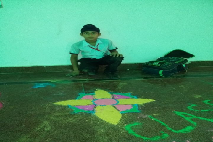 Jk International School-Rangoli