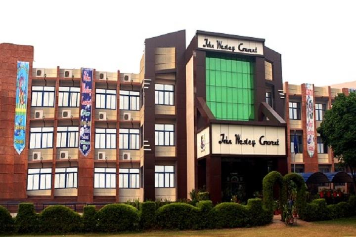 John Wesley Convent School-Campus