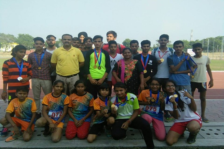 Kali Ram Dav Public School-Sports winners